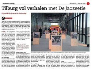 Publicatie Stadsnieuws Tilburg De Jaozeetie