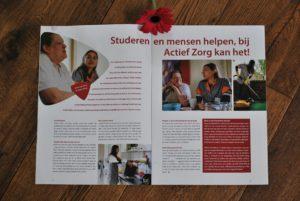 Publicatie in het magazine van Actief Zorg